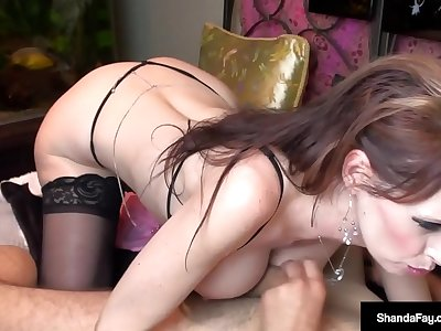 Canadian Wife Shanda Fay Gets Her Ass Banged & Cunt Crammed!