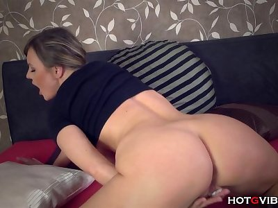 Busty Amateur MILF Moaning